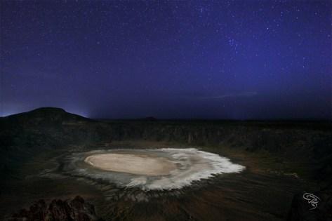 Al-Wahba Crater