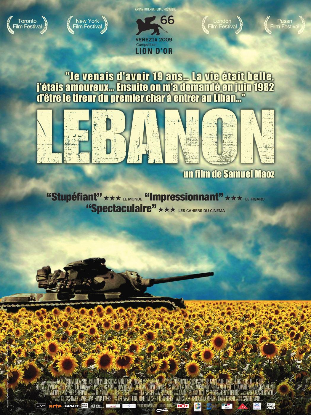 Risultati immagini per lebanon film poster