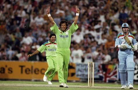 World Cup Final Imran Khan