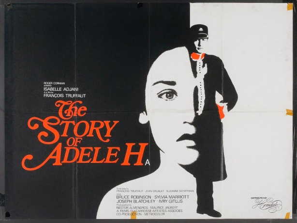 THE STORY OF ADELE H - UK Poster